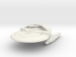 "Reliant Refit A Class Cruiser  4.6"" in White Natural Versatile Plastic"