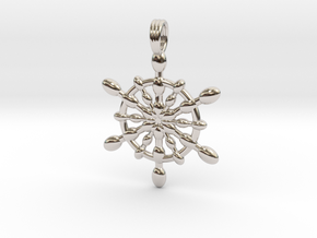 ECSTASY OF LIFE in Rhodium Plated
