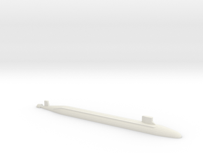 USS Jimmy Carter SSN, 1/2400 in White Natural Versatile Plastic