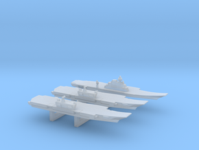 INS Future Carrier Pack, 3 pc, 1/6000 in Smooth Fine Detail Plastic