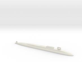 Ohio SSBN With Seal Pods, 1/2400 in White Natural Versatile Plastic