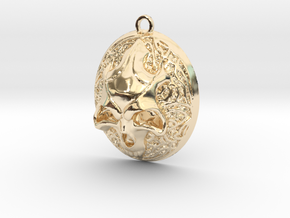 FELDOR pendant  in 14K Yellow Gold