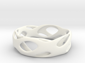 Frohr-design-bracelet-7.10.2015-2 in White Strong & Flexible Polished