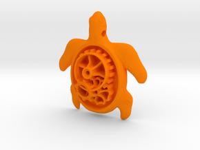 MECHA MOMO pendant  in Orange Processed Versatile Plastic