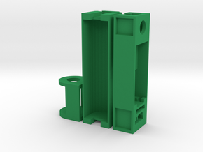 MODBOX C MOD PARTS in Green Strong & Flexible Polished