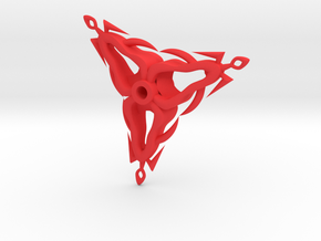 Flickel in Red Strong & Flexible Polished