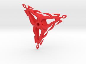 Flickel in Red Processed Versatile Plastic