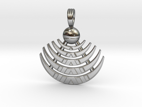 MOON GLYPH in Premium Silver