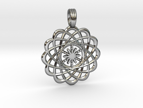 CREATION FLOWER in Premium Silver