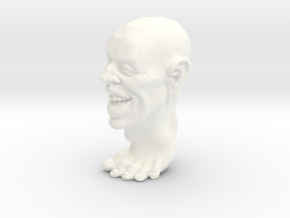 Footguy Solid 1 1/2 inches in White Processed Versatile Plastic