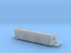 Florida Rock Hopper Frame/Sides N scale in Smooth Fine Detail Plastic