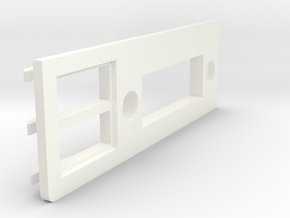 A1200 Rear Expansion port cover DVI and USB in White Processed Versatile Plastic