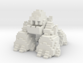 Vox Snow Golem in White Natural Versatile Plastic