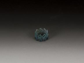 Celtic Knot Ring 2 in White Natural Versatile Plastic
