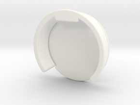 GoPro Hero3 / Hero4 Lens Cover for Frame Case in White Processed Versatile Plastic