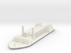 USS Indianola 1.0 1/600 in White Natural Versatile Plastic