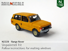 Range Rover (N 1:160) in Smooth Fine Detail Plastic