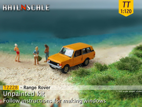 Range Rover (TT 1:120) in Smooth Fine Detail Plastic
