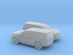 1/160 2X 2008-Present Toyota Land Cruiser in Smooth Fine Detail Plastic