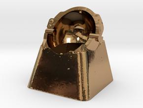 Astronaut Helmet (For Cherry MX Keycap) in Polished Brass