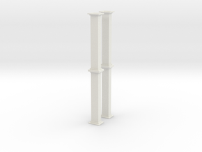 'S Scale' - Bucket Elevator- 20 Ft. - Casing in White Natural Versatile Plastic