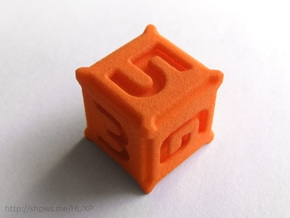 BattleTech Dice - D6 Plastic in Orange Processed Versatile Plastic