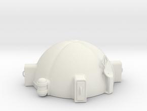 Ares 3 space mission habitat in White Natural Versatile Plastic