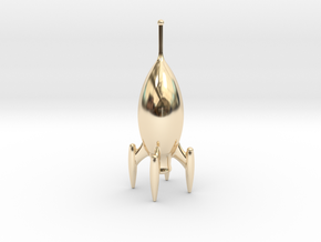 Roger One - Pocket Rocket in 14K Yellow Gold