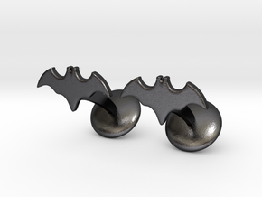 Batman Dead End Cufflinks in Polished and Bronzed Black Steel
