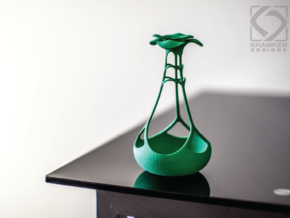 Blooming Holder in Green Strong & Flexible Polished