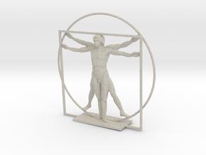 The Vitruvian Man - Antiques in Natural Sandstone