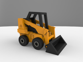 Bobcat Loader (1:400 Scale) in Smooth Fine Detail Plastic