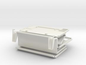 Apple Lisa 2, Macintosh XL Raspberry Pi Case in White Natural Versatile Plastic