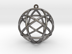 Penta Sphere in Polished Nickel Steel