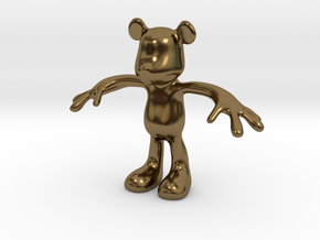 MOUSE KITOY in Polished Bronze