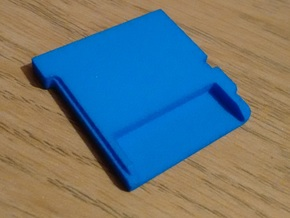 3DS Cartridge Blank Thin in Blue Strong & Flexible Polished