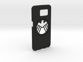 Galaxy S6 Capa S.H.I.E.L.D.(1.5mm) in Black Strong & Flexible