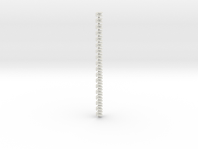 Gn15 1:35 Link and pin coupling  in White Natural Versatile Plastic