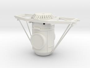 Orbital Docking System Main Body And Frame in White Natural Versatile Plastic