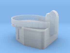 Fletcher-class Tear Drop Gun Tub with Mark 49 Dire in Smoothest Fine Detail Plastic