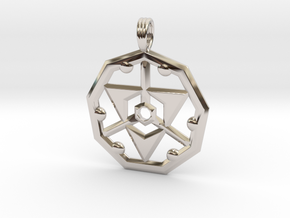 HARMONIC DESTINY in Rhodium Plated