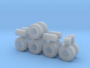 "1/64th Heavy 52"" Oilfield or Off Road tires, set 2 in Frosted Ultra Detail"