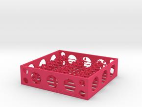 1:200 TYPE96 Single25mmMGx24 in Pink Processed Versatile Plastic