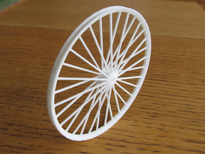 Pit Sheave Wheel 60mm in White Natural Versatile Plastic