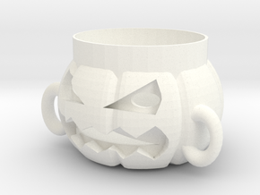 Halloween Pumpkin Corsair in White Processed Versatile Plastic