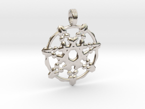 HIGH PRIESTESS in Rhodium Plated