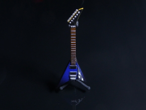 Jackson RR3 Guitar Miniature in Smooth Fine Detail Plastic