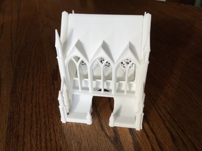 Gothic Cathedral Toothpick Dispenser in White Strong & Flexible
