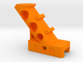 45 Degrees Angled Foregrip in Orange Processed Versatile Plastic