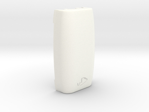 DNA200 Ergonomic case - Extended Back in White Processed Versatile Plastic